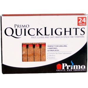 primo grill quick lights