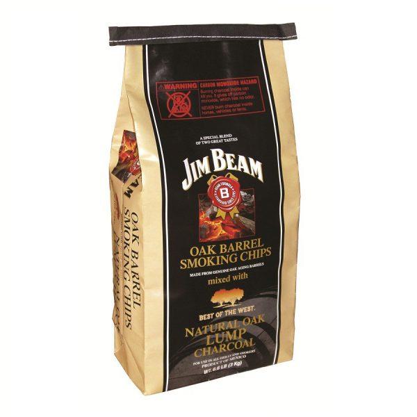 3kg Jim Beam houtskool met houtsnippers