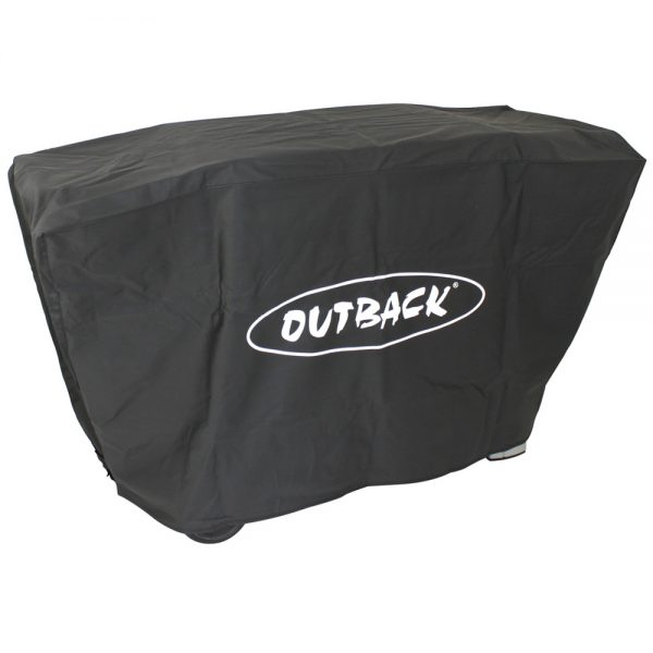 outback barbecue flatbed 3 branders cover