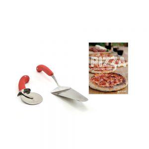 Pizzacraft pizza receptenboek met serveerset