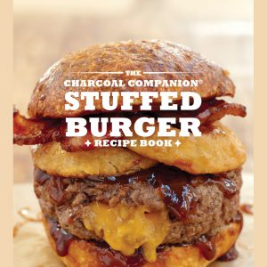 carcoal companion stuffed burger recipe book