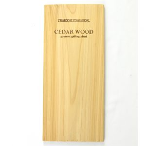 charcoal companion cederhouten grillplank